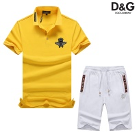 Dolce & Gabbana D&G Tracksuits Short Sleeved Polo For Men #476648
