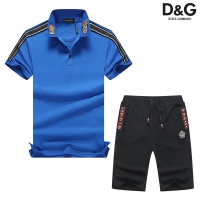 Dolce & Gabbana D&G Tracksuits Short Sleeved Polo For Men #476649