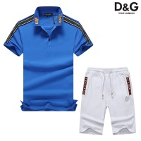 Dolce & Gabbana D&G Tracksuits Short Sleeved Polo For Men #476650