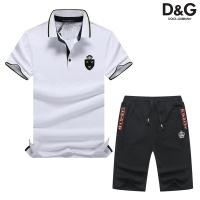 Dolce & Gabbana D&G Tracksuits Short Sleeved Polo For Men #476660