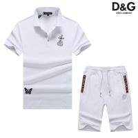Dolce & Gabbana D&G Tracksuits Short Sleeved Polo For Men #476665