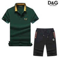 Dolce & Gabbana D&G Tracksuits Short Sleeved Polo For Men #476676