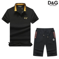 Dolce & Gabbana D&G Tracksuits Short Sleeved Polo For Men #476679