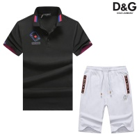 Dolce & Gabbana D&G Tracksuits Short Sleeved Polo For Men #476684