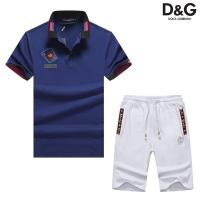 Dolce & Gabbana D&G Tracksuits Short Sleeved Polo For Men #476688