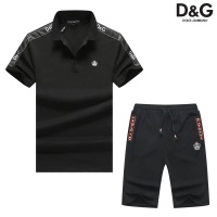 Dolce & Gabbana D&G Tracksuits Short Sleeved Polo For Men #476696