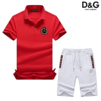 Dolce & Gabbana D&G Tracksuits Short Sleeved Polo For Men #476716