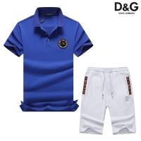 Dolce & Gabbana D&G Tracksuits Short Sleeved Polo For Men #476718