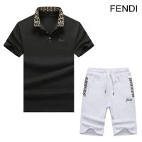 Fendi Tracksuits Short Sleeved Polo For Men #476729