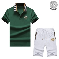 Versace Tracksuits Short Sleeved Polo For Men #476765