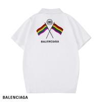 Balenciaga T-Shirts Short Sleeved Polo For Men #476874