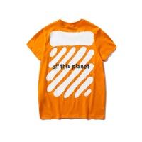 Off-White T-Shirts Short Sleeved O-Neck For Men #477210