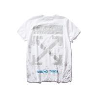 Off-White T-Shirts Short Sleeved O-Neck For Men #477216