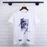 Off-White T-Shirts Short Sleeved O-Neck For Men #477221