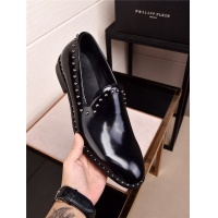 Cheap Philipp Plein PP Leather Shoes For Men #477341 Replica Wholesale [$91.18 USD] [W#477341] on Replica Philipp Plein PP Leather Shoes