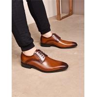 Salvatore Ferragamo SF Leather Shoes For Men #477396