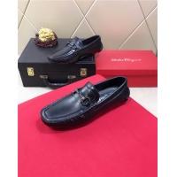 Salvatore Ferragamo SF Leather Shoes For Men #477751