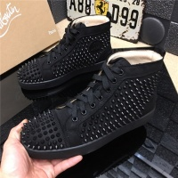 Christian Louboutin CL High Tops Shoes For Men #477781