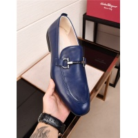 Salvatore Ferragamo SF Leather Shoes For Men #478147