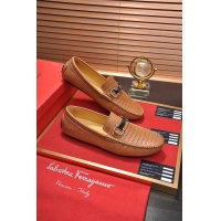 Salvatore Ferragamo SF Leather Shoes For Men #478156