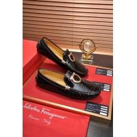 Salvatore Ferragamo SF Leather Shoes For Men #478157