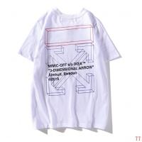 Off-White T-Shirts Short Sleeved O-Neck For Men #478494