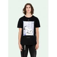 Off-White T-Shirts Short Sleeved O-Neck For Men #478789