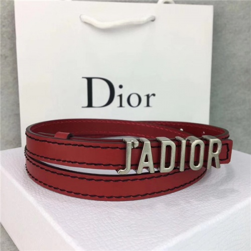 Cheap Christian Dior AAA Belts For Women #483527 Replica Wholesale [$60.14 USD] [W#483527] on Replica Dior AAA Quality Belts