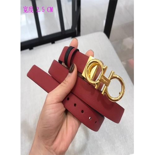 Cheap Ferragamo Salvatore FS AAA Quality Belts For Women #484670 Replica Wholesale [$54.32 USD] [W#484670] on Replica Super AAA Ferragamo Belts