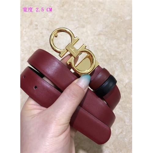 Cheap Ferragamo Salvatore FS AAA Quality Belts For Women #484681 Replica Wholesale [$62.08 USD] [W#484681] on Replica Super AAA Ferragamo Belts
