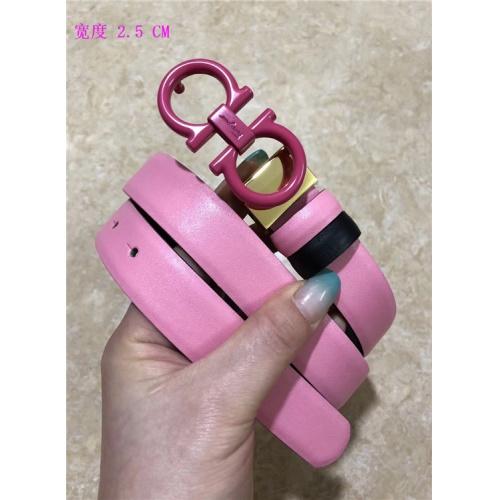 Cheap Ferragamo Salvatore FS AAA Quality Belts For Women #484684 Replica Wholesale [$62.08 USD] [W#484684] on Replica Super AAA Ferragamo Belts