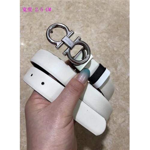 Cheap Ferragamo Salvatore FS AAA Quality Belts For Women #484685 Replica Wholesale [$62.08 USD] [W#484685] on Replica Super AAA Ferragamo Belts