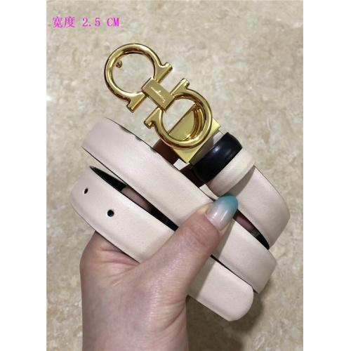 Cheap Ferragamo Salvatore FS AAA Quality Belts For Women #484686 Replica Wholesale [$62.08 USD] [W#484686] on Replica Super AAA Ferragamo Belts