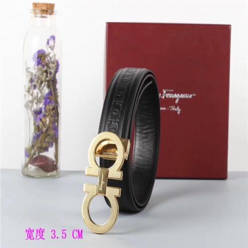 Cheap Ferragamo Salvatore FS AAA Quality Belts For Men #484693 Replica Wholesale [$54.32 USD] [W#484693] on Replica Super AAA Ferragamo Belts