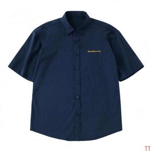 Cheap Balenciaga Shirts Short Sleeved Polo For Men #487650 Replica Wholesale [$38.80 USD] [W#487650] on Replica Balenciaga Shirts
