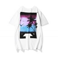 Off-White T-Shirts Short Sleeved O-Neck For Men #481019