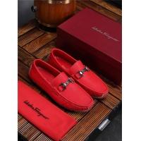 Salvatore Ferragamo SF Leather Shoes For Men #481322