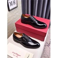 Salvatore Ferragamo SF Leather Shoes For Men #481325