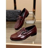 Salvatore Ferragamo SF Leather Shoes For Men #481331