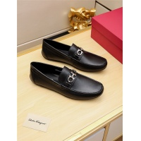 Salvatore Ferragamo SF Leather Shoes For Men #481336