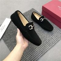 Salvatore Ferragamo SF Leather Shoes For Men #481342