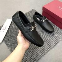 Salvatore Ferragamo SF Leather Shoes For Men #481343