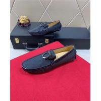 Salvatore Ferragamo SF Leather Shoes For Men #481346