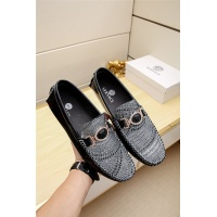 Versace Leather Shoes For Men #482224