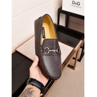 Dolce&Gabbana D&G Leather Shoes For Men #482860