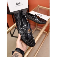 Dolce&Gabbana D&G Leather Shoes For Men #482861