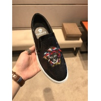Cheap Versace Casual Shoes For Men #483037 Replica Wholesale [$75.66 USD] [W#483037] on Replica Versace Fashion Shoes