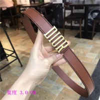 Christian Dior AAA Belts For Women #483500