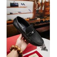 Salvatore Ferragamo SF Leather Shoes For Men #484286