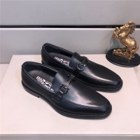 Salvatore Ferragamo SF Leather Shoes For Men #484296